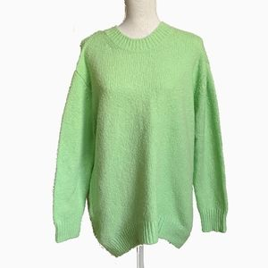 LEITH NORDSTROM | MINT GREEN SWEATER